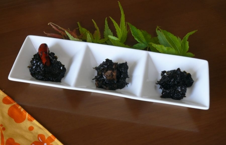 海苔の佃煮3種