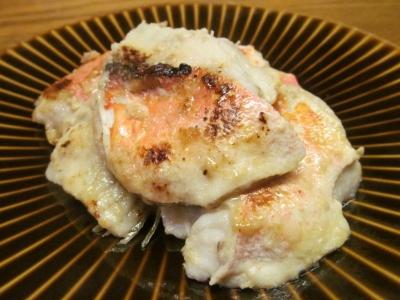 ホウボウのハラス塩麹焼き1