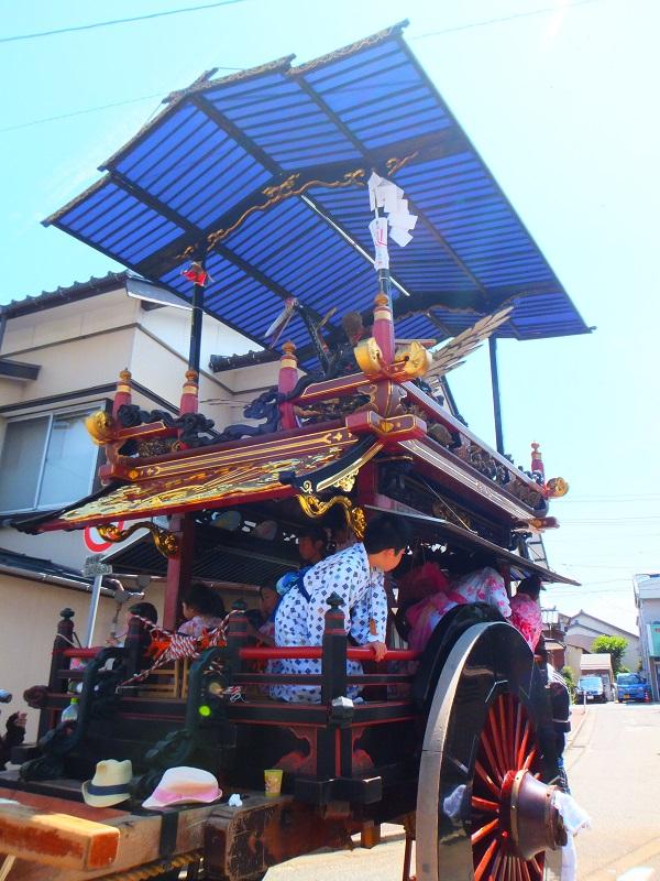 2015村上大祭 寺町