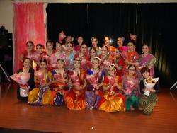 インド舞踊サナトクマラ研究生発表会2014年11月30日