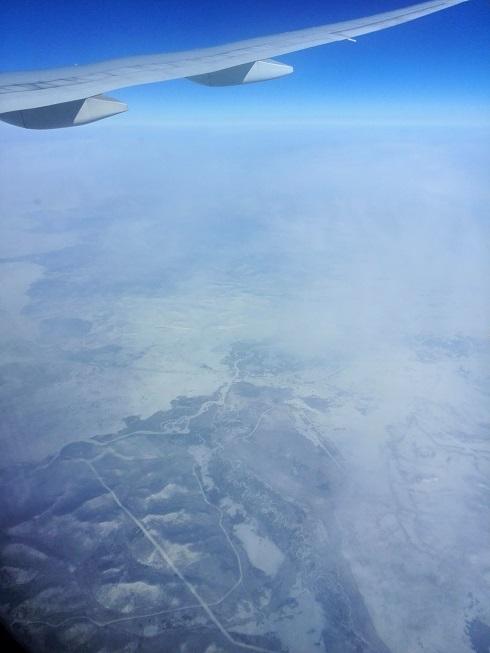 7 ロシア上空