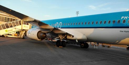 21 オランダ・アムステルダム・スキポール空港到着