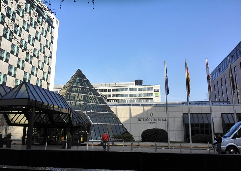 10 インターコンチネンタルホテル ベルリン・全景
