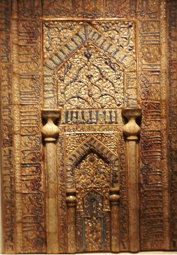 22 イスラム美術の展示品