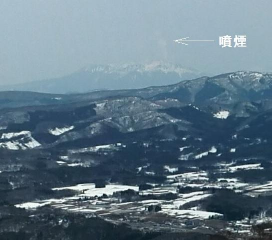 107 御嶽山の噴煙
