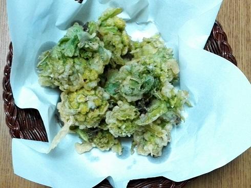116 フキノトウの天ぷら
