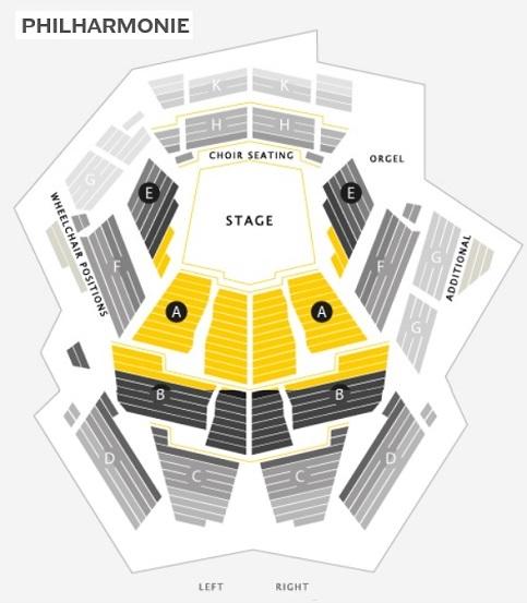 6 ベルリンフィルハーモニー・座席表