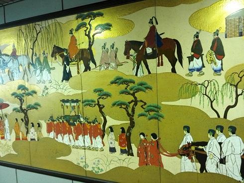 1 京都・京阪出町柳駅・壁画