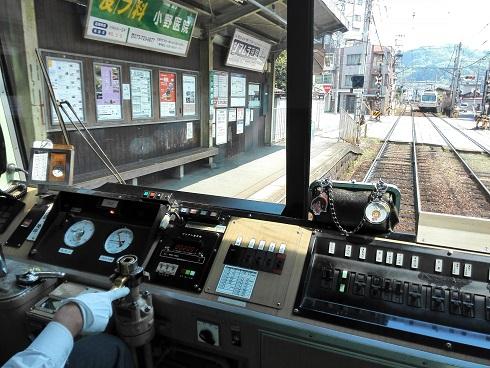 3 叡電・車内