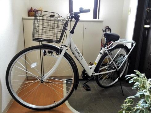 1 新しい自転車購入