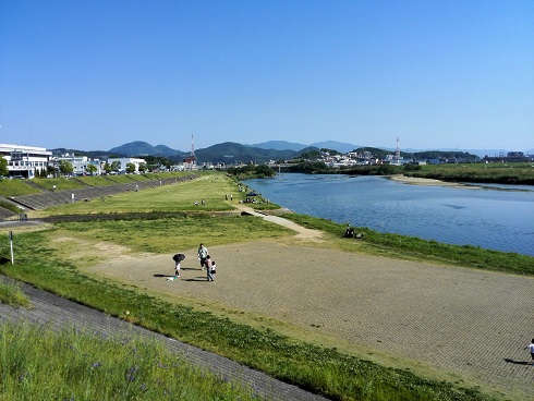 5 大和川の河川敷