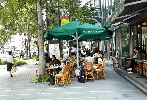 3 オープンカフェ