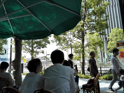 11 オープンカフェ
