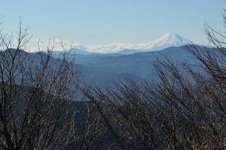山頂より富士