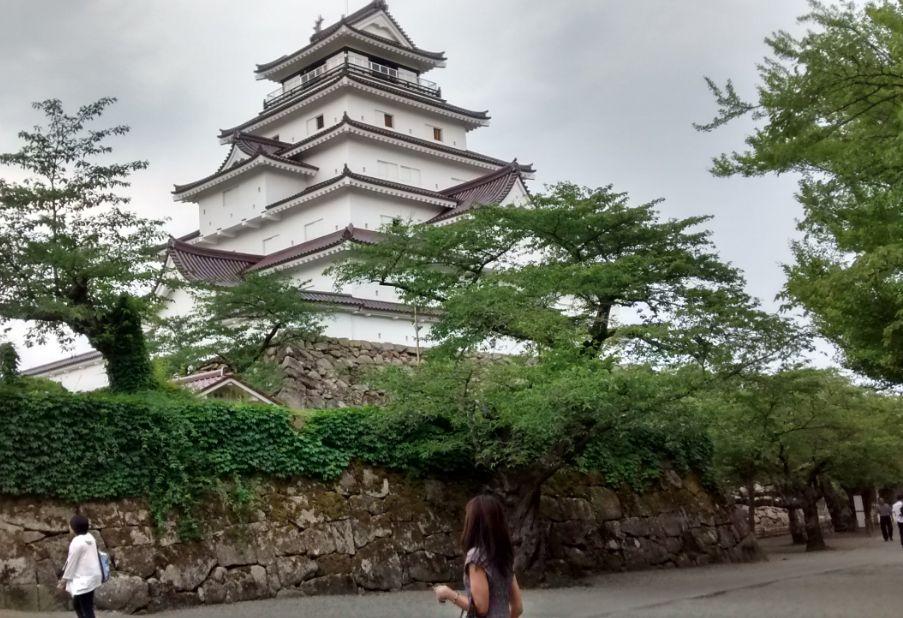 ②鶴ヶ城(マキちゃん