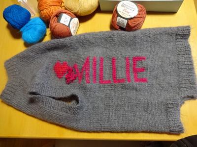 ミリーのセーターを