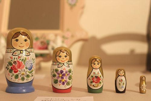 5女のマトリョーシカちゃんs