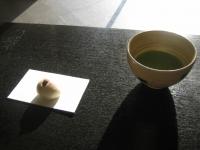お菓子と抹茶