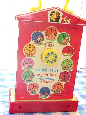 fisher price clock3