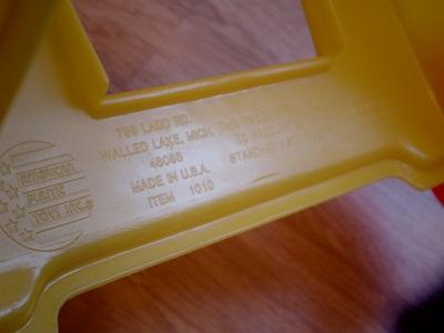 黄色カート&ブランケット4