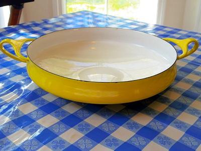 Dansk パエリアパン 黄色