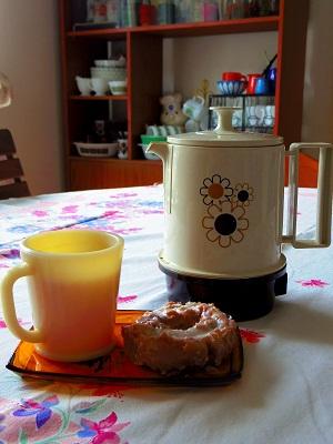 ドーナツ×茶