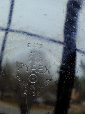 クリア Old pyrex6