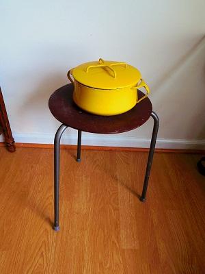 Dansk 両手鍋 黄色
