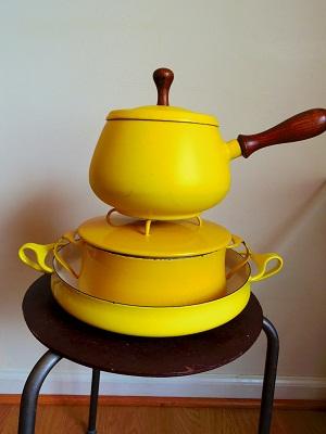 Dansk 両手鍋 黄色6