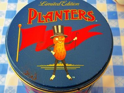 ミスターピーナッツ Tin缶2