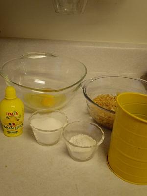 チーズケーキ作り