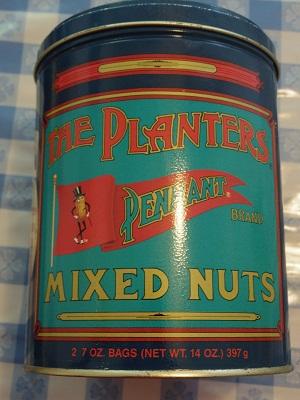 ミスターピーナッツ缶2