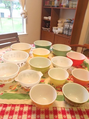Pyrex bowl 集合