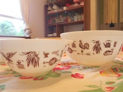 Pyrex bowl 集合3