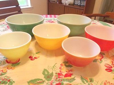 Pyrex bowl 集合5