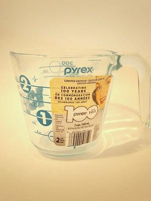 Pyrex100years メジャーカップ ターコイズ