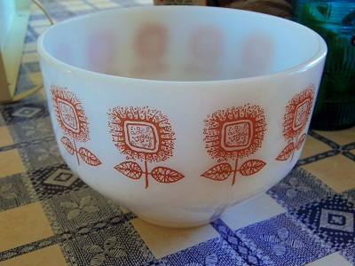 Federal sun flower bowl