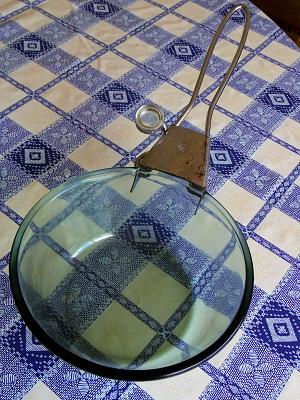 フレームウェア ガラスボタン