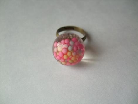 パステルシュガーな指輪