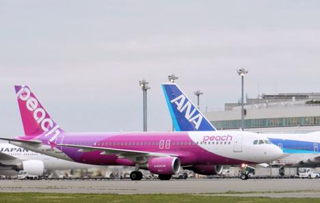 ピーチが東京進出!成田空港だけでなく、今年夏に羽田空港へ!