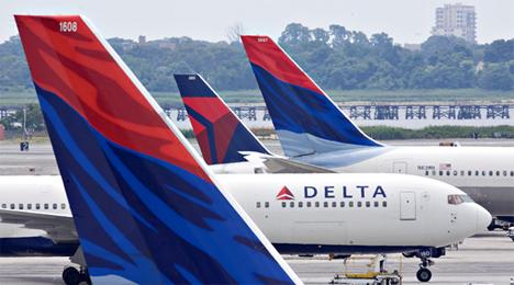 デルタ航空「スカイマイル」を貯める場合は100円=1マイルではなく100円=1
