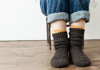 靴下の重ね履き