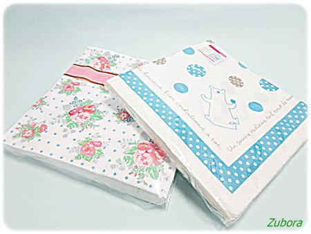 セリアの紙ナプキン