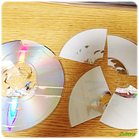 DVDデータの破壊