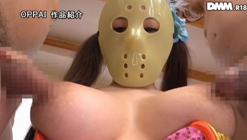 仮面の巨乳女子2a10.