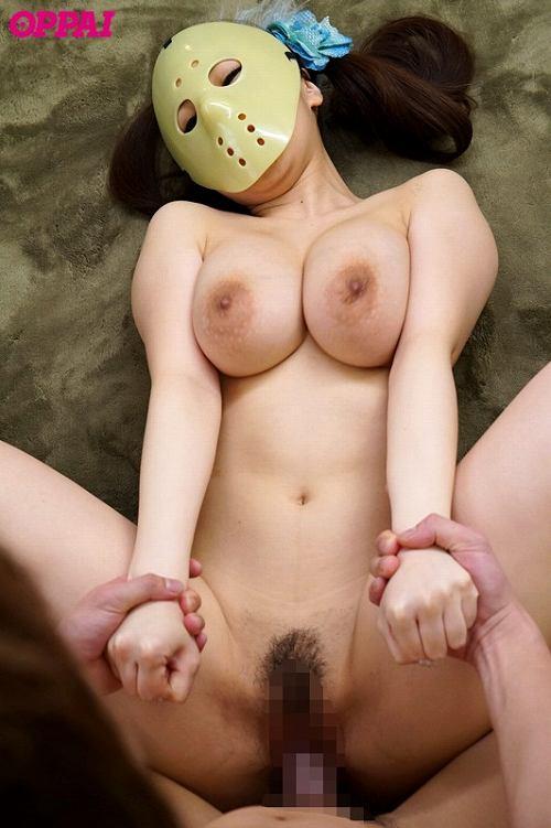 仮面の巨乳女子a07.