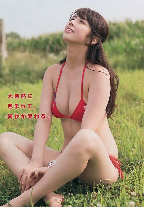 柳ゆり菜巨乳水着おっぱい画像a37