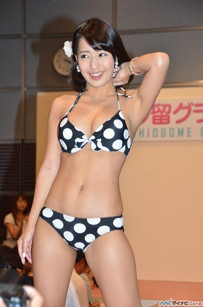 橋本梨菜Gカップ巨乳おっぱい画像b01