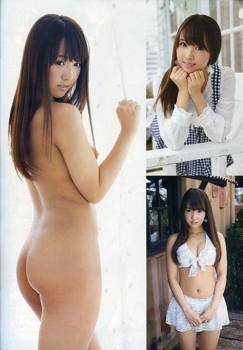 鬼頭桃菜Eカップヌードおっぱい画像b04