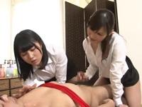 M男拘束チ○ポ虐めエステ!